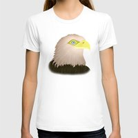 eagle T-shirts featuring Eagle by Nir P