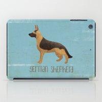 german iPad Cases featuring German Shepherd by 52 Dogs