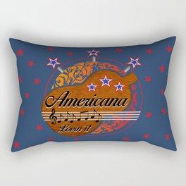 Americana - Lovin' it Rectangular Pillow