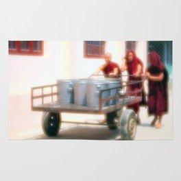 Three Monks Rug