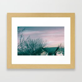 It's a beautiful day in the neighborhood Framed Art Print