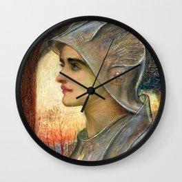 "Sir William Blake Richmond ""St Joan of Arc"" Wall Clock"