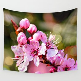 A sign of Spring. Wall Tapestry
