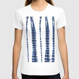 Indigo Blue Tie Dye Delight T-shirt