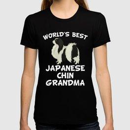 World's Best Japanese Chin Grandma T-shirt