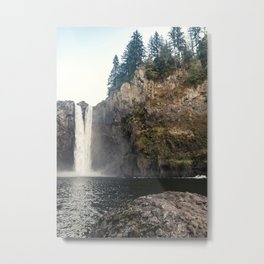 Snoqualmie Waterfall Metal Print