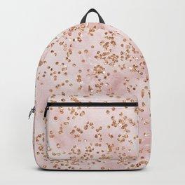 Cotton candy diamond rain Backpack