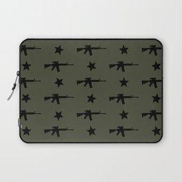 M4 Assault Rifle Pattern Laptop Sleeve