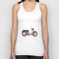 motorbike Tank Tops featuring Motorbike by Ryan Ly
