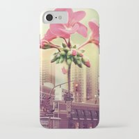 architect iPhone & iPod Cases featuring Floral Architect by Rachael Jane
