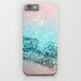Tropical Summer Vibes Glitter #2 #decor #art #society6 iPhone Case