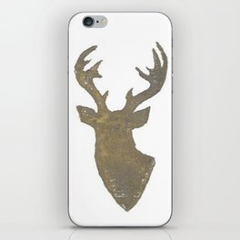 Stag Print iPhone Skin