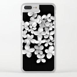 Pristine Petals Clear iPhone Case
