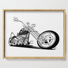 Custom American Chopper Motorcycle Serving Tray