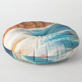 Moroccan Sea Spray Floor Pillow