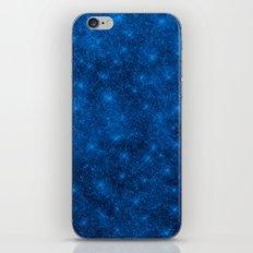 Sequin series blue iPhone & iPod Skin