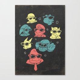 Super Smash Bros inspired Gaming art Canvas Print