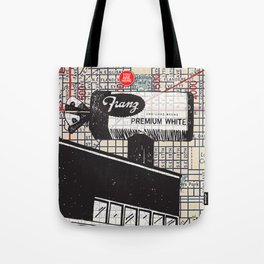 Franz Bakery sign, N.E. 12th and Flanders Street, You Are Here, Portland. Tote Bag