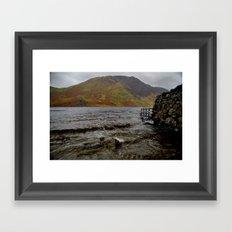 Crummock Splash Framed Art Print