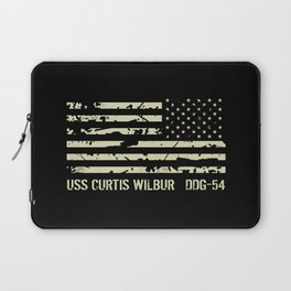 USS Curtis Wilbur Laptop Sleeve