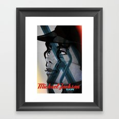 Looking Out Across The Nighttime Framed Art Print
