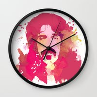 zappa Wall Clocks featuring FrankZAPPA by BIG Colours