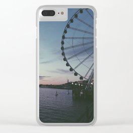 Sunsets in Seattle Clear iPhone Case