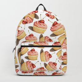 Pink Cupcakes Backpack