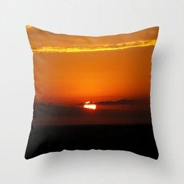 Oklahoma Sunrise Throw Pillow