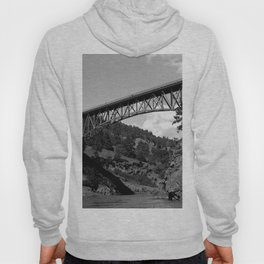 Deception Pass, the Bridge to Whidbey Island Hoody
