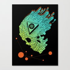 Child of Atom Canvas Print