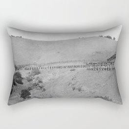 World War I Camp Fremont Solders in Palo Alto Rectangular Pillow