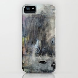 Jurassic (oil on canvas) iPhone Case
