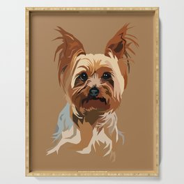 It's A Yorkie Serving Tray
