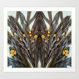 Herbarium pattern Art Print
