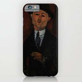 Amedeo Modigliani - Paul Guillaume, Novo Pilota iPhone Case