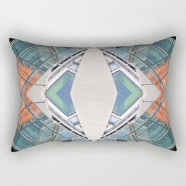 SLQ 0812 - digital symmetry Rectangular Pillow
