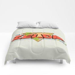 The Legend of Zelda Logo Comforters