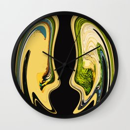 Two Comedians Wall Clock