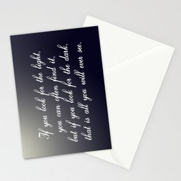 Look for the Light Stationery Cards