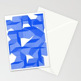 Abstract rectangles Stationery Cards