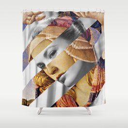 Canvas Art Shower Curtains