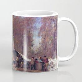 A Different Sugaring Off - Eastman Johnson Coffee Mug