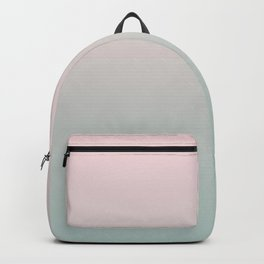 Simply Pink & Mint Color Gradient - Mix And Match With Simplicity of Life Backpack