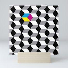 cubes Mini Art Print