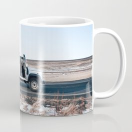 Day out shoting in Iceland Coffee Mug