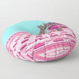 LA Palm Tree Look Up Floor Pillow