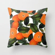 The Forbidden Orange #society6 #decor #buyart Throw Pillow