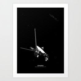VOYAGER 1 Art Print