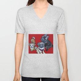 Phoebe Nemo & Stark Unisex V-Neck
